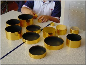 Pupil sorting boxes